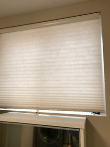 $50 EACH-Cellular Ivory Shades (Top down-Bottom up)