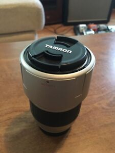 Tamron tele-macro lens for Pentax camera