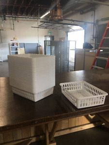 Plastic Trays different sizes available: