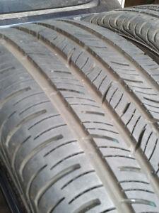 2 x 235/40/18 CONTINENTAL contiprocontact tires %85 %90 tread