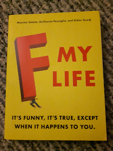 F My Life Paperback Book