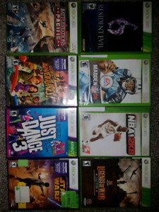 Xbox 360 games - give me an offer