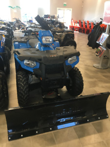 2018 polaris Sportsman 450 **PLOW  TRAILER PACKAGE **