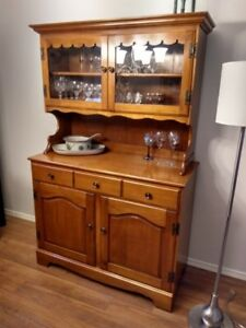 Roxton - Solid Maple Dining Hutch