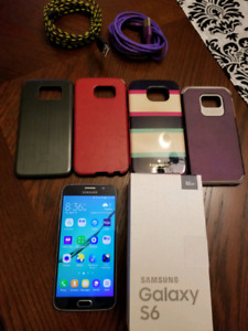 Samsung Galaxy S6 phone and cases