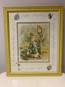 Peter rabbit picture frame