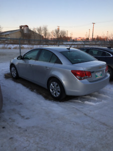 Saftied 2012 Chevrolet Cruze LS w/1SA Sedan
