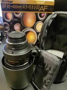 Nikon AF VR 80-400mm F/4.5-5.6 D ED Lentille/Lens