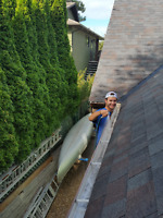 Gutter & Window cleaning - work outside with awesome crew