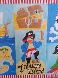 Pirate Wrapped Canvas Print/Painting for Kids Room Cambridge Kitchener Area image 3