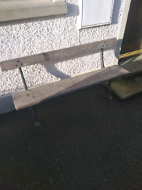 Old Garden Bench 5ft