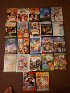 Children movie dvd bundle