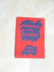 1953 Ryerson Press textbook: 'Working With English'