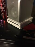 Wii console +games, charging station +extras