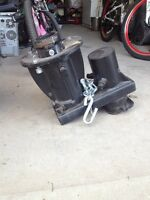 Ball Hitch to Fifth Wheel Adaptor
