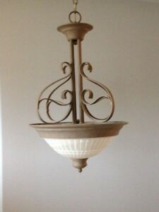 Pendent & Flush Mount Light Set