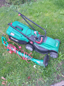 Lawn mower and strimmer Qualcast