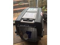 Pet cat dog carrier conforms to airline standards