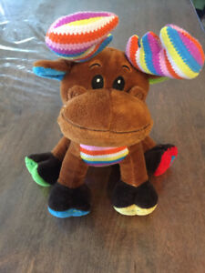 Rainbow Reindeer Stuffy