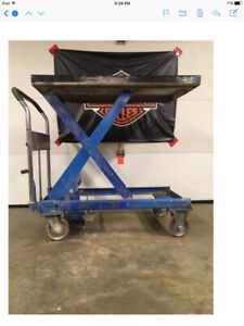 Manual lift tables