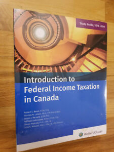 Introduction to Federal Income Taxation in Canada 39th 2018-2019
