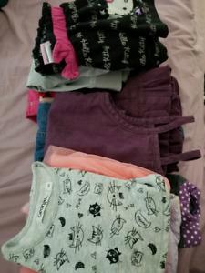 Lot de vêtements 3T pour filles