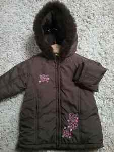 Cute and Warm Brown Winter Coat