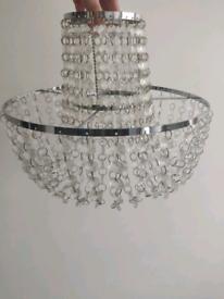 2 x Ceiling light shade