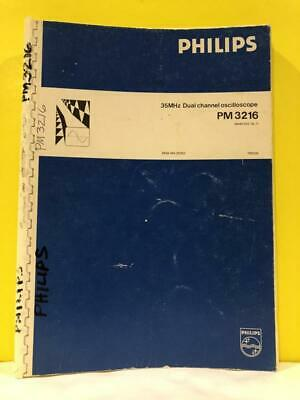 Philips 9499 440 20202 35 Mhz Dual Channel Oscilloscope Operating Manual