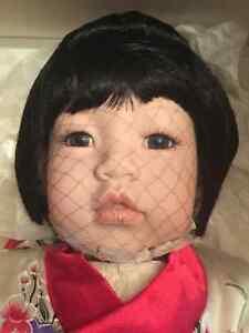 Beautiful Porcelain Japanese Doll (ltd. ed)