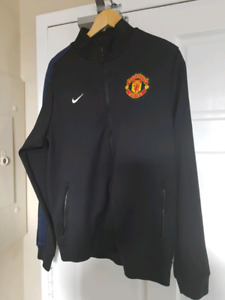 Manchester United Training Top Black