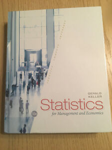 Statistics for Management and Economics - 10th Edition