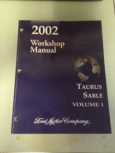 2002 ford Taurus original O.E.M service manuals from ford. $200