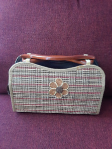 Cute bag from bamboo