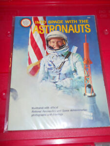 Vintage 1960's INTO SPACE WITH THE ASTRONAUTS