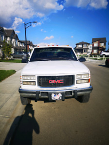 1997 gmc dually one tonne with 6.5 turbo diesel