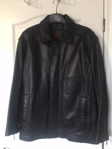DANIER - MEN's Leather Jacket 2XL - Excellent Condition