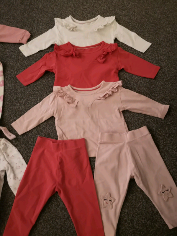Baby Girls Legging Bundle 3-6 Months 3 Pairs Clothing, Shoes & Accessories Mixed Items & Lots