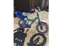 Kids frozen bike