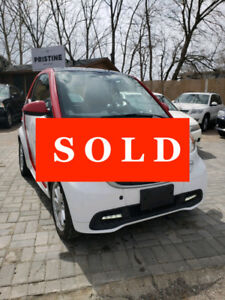 2014 Smart Fortwo Passion Coupe Electric-One Owner-No Accident