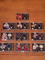 10 jersey hockey cards
