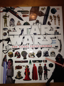 Star Wars, The Visual Encyclopedia; New Price as of Jan. 9th