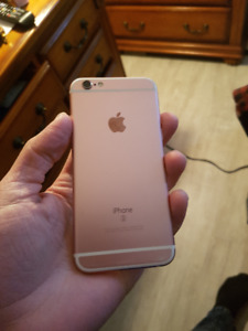 Rose Gold White Iphone 6S 16 GB Unlocked - $250 FIRM