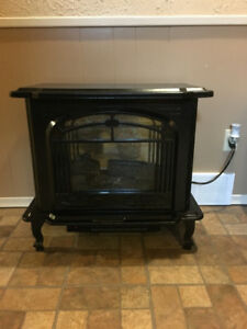 Large Electric Heat Portable Upright Fireplace