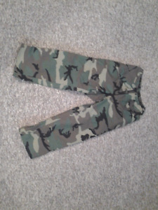 Woodland Camo Goretex Pants