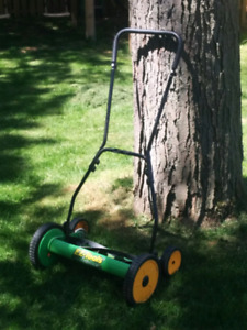 Barely used hand mower