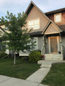 Beautiful half duplex with two car garage in W Edm