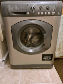 Hotpoint HE8L493 8kg 1400rpm Freestanding Washing Machine - Graphite