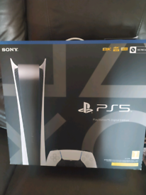 New and sealed ps5 Digital Console