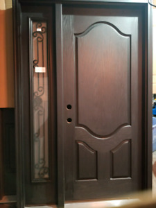 New Fiberglass entry door 34""